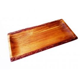 Pasamanos bandeja de madera