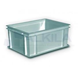Cubeta sin asas 40x30x32 cm. Gris