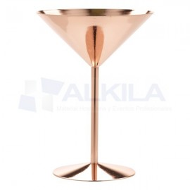 Martini Glass Copper