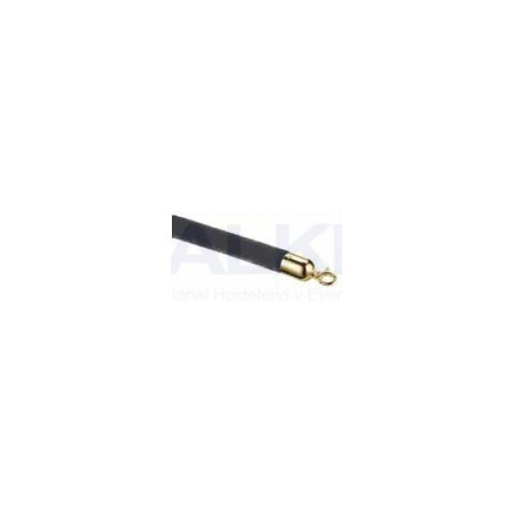 Cordon negro/oro p/columna móvil