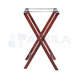 Tijera soporte bandeja madera