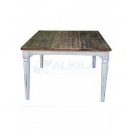 Mesa de madera rústica 200x120