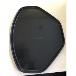 Bandeja melamina negra autoservicio 49 x 37 cm