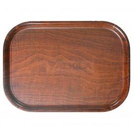 Bandeja de autoservico en madera