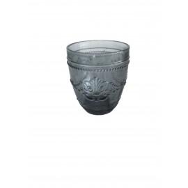 Vaso flor gris 30 cl.