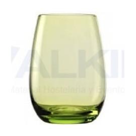 Vaso verde Arpege 35 cl.