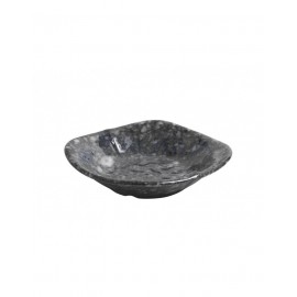 Bowl mamba cuadrado melanina negra 10,2 x 10,2 x 3,4 cm