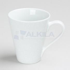 Taza cerámica blanca 30 cl