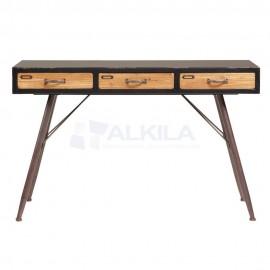 Consola industrial madera de abeto