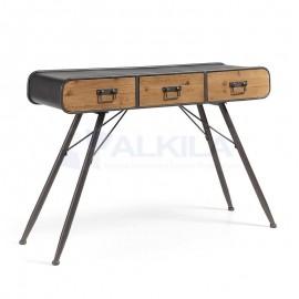Consola industrial-vintage madera de abeto