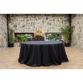Mantel negro hilo 360 x 360 cm