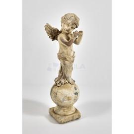 Estatua angelito cemento