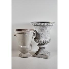 Maceton ceramica o cemento