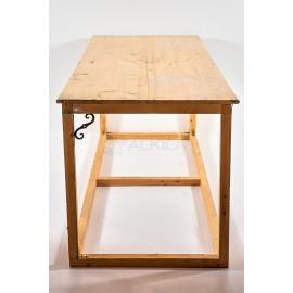 Mesa madera rectangular para vestir