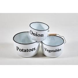 Conjunto cubos verduras blanco