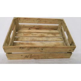 Cajas de madera de pino