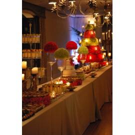 Lámpara, candelabro en alturas 20 velas