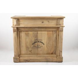 Barra de bebidas de madera