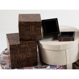 Conjunto cajas de madera