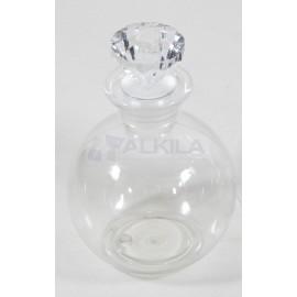 Botellas esféricas plástico